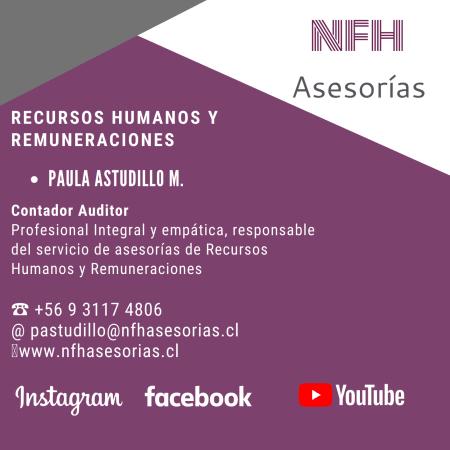 NFH Asesorías - Contabilidad, Tributaría, RRHH y Gestión
