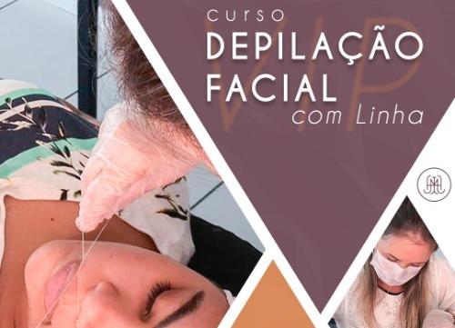 Curso de Depilação Facial com Linha VIP com Jessica Hasse