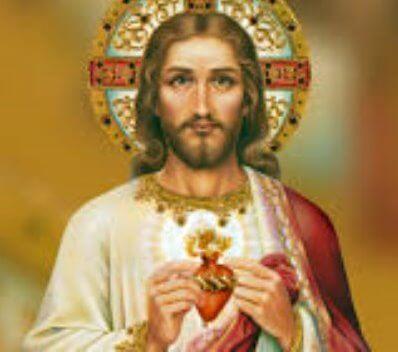 SAGRADO CORAÇÃO DE JESUS, eu confio em V
