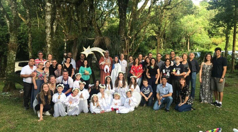União de Famílias do Regiao Sul celebra o Advento em Itaara
