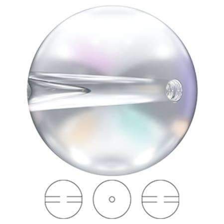 5028/4 Swarovski Crystal Globe Bead