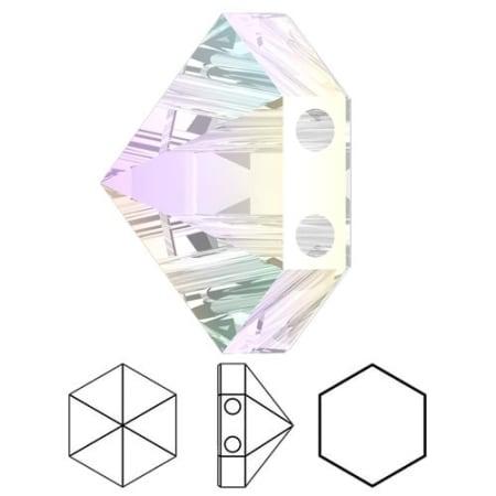 5060 Swarovski Hexagon Spike Bead