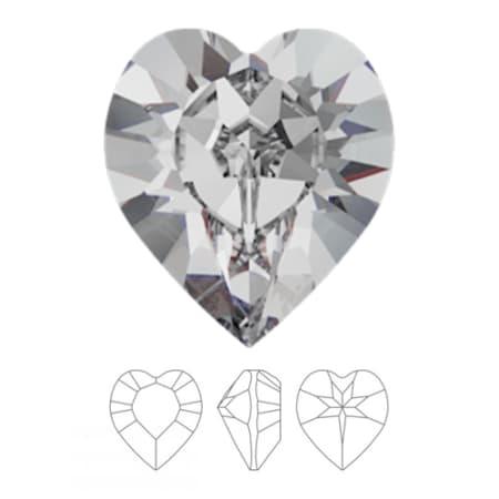 4884 Swarovski Xilion Heart