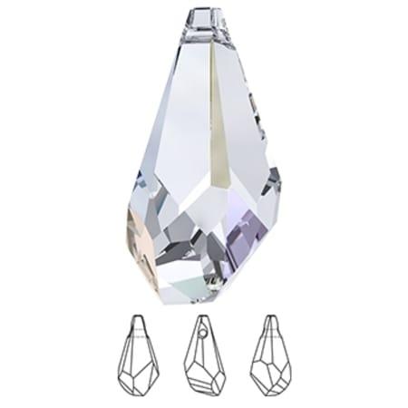 6015 Swarovski Polygon Drop