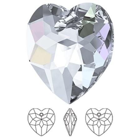 6215 Swarovski Classic Heart