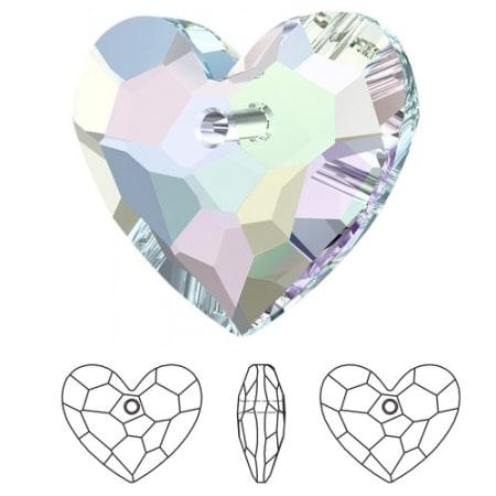6264 Swarovski Truly in Love Heart