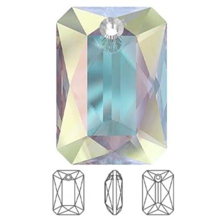 6435 Swarovski Emerald Cut