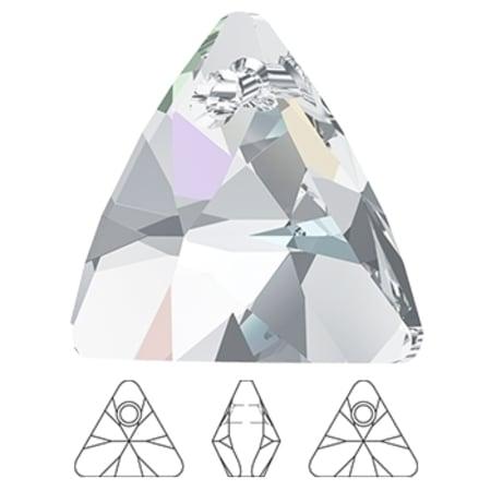 6628 Swarovski Xilion Triangle