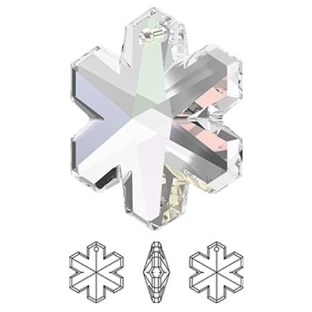 6704 Swarovski Snowflake