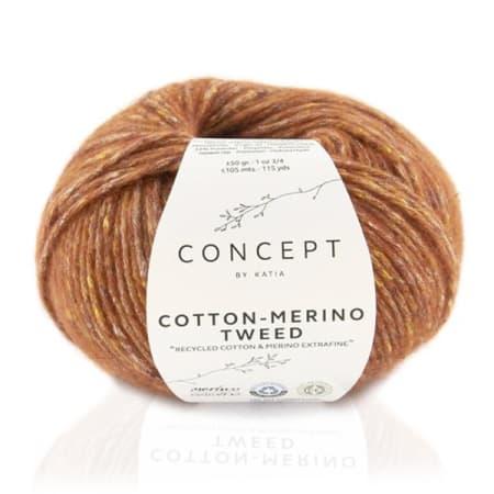 Katia Cotton Merino Tweed