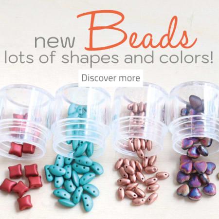 Novità   Scopri le nuove tendenze 2021/2022 e colora il tuo autunno con le nuove Perline in Vetro di Boemia