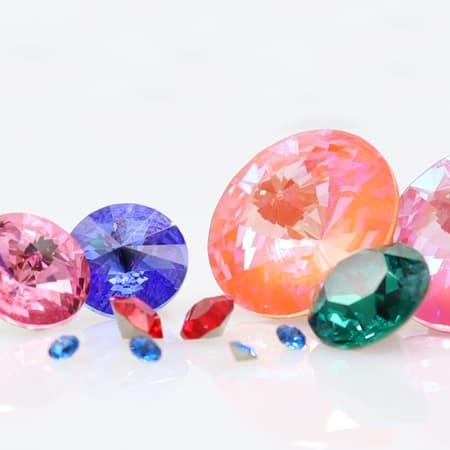 Swarovski® Round Stones