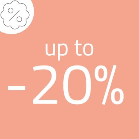 Promozione fino al -20%
