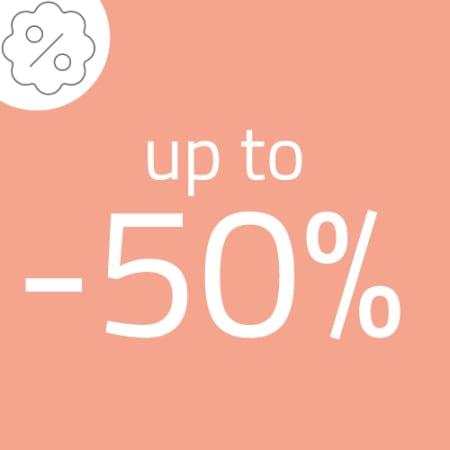 Promozione fino al -50%
