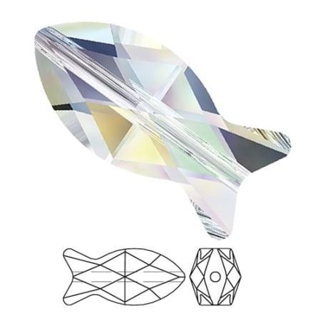 5727 Swarovski Fish Bead