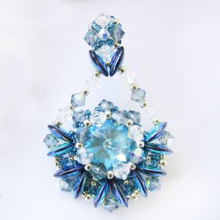 Orecchini Blue Bell