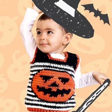 Halloween Gilet