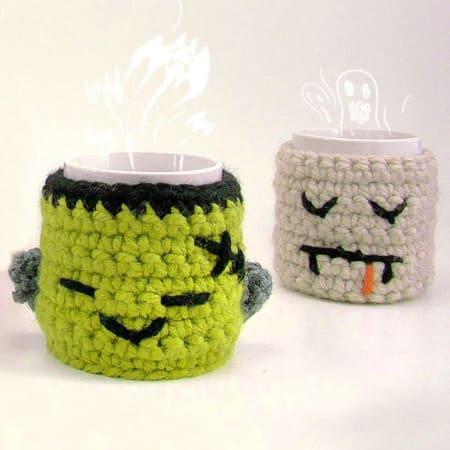Halloween Monster Mugs