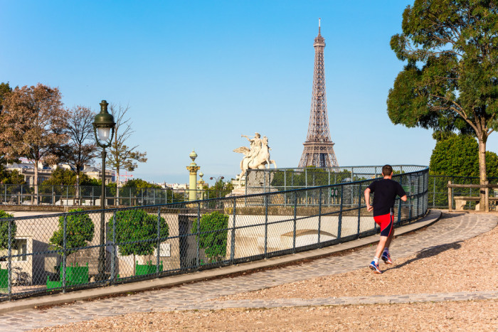 Runner's Tour of Paris