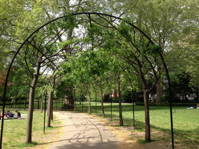 Literary London: The Garden Squares of Bloomsbury