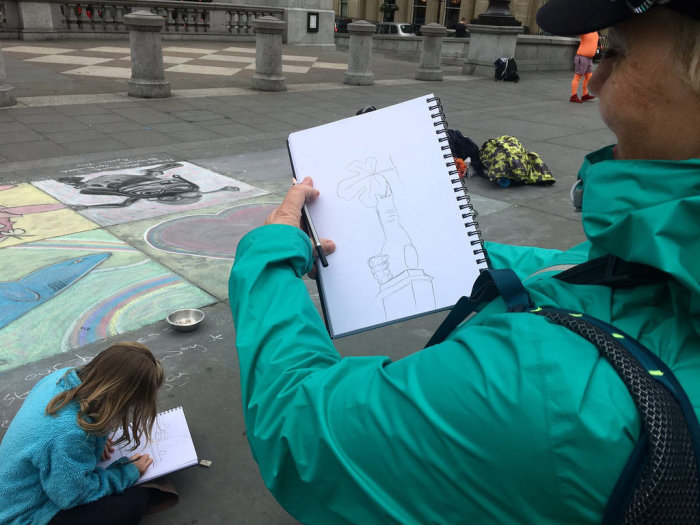 Drawing London: A Hands-on Art Workshop