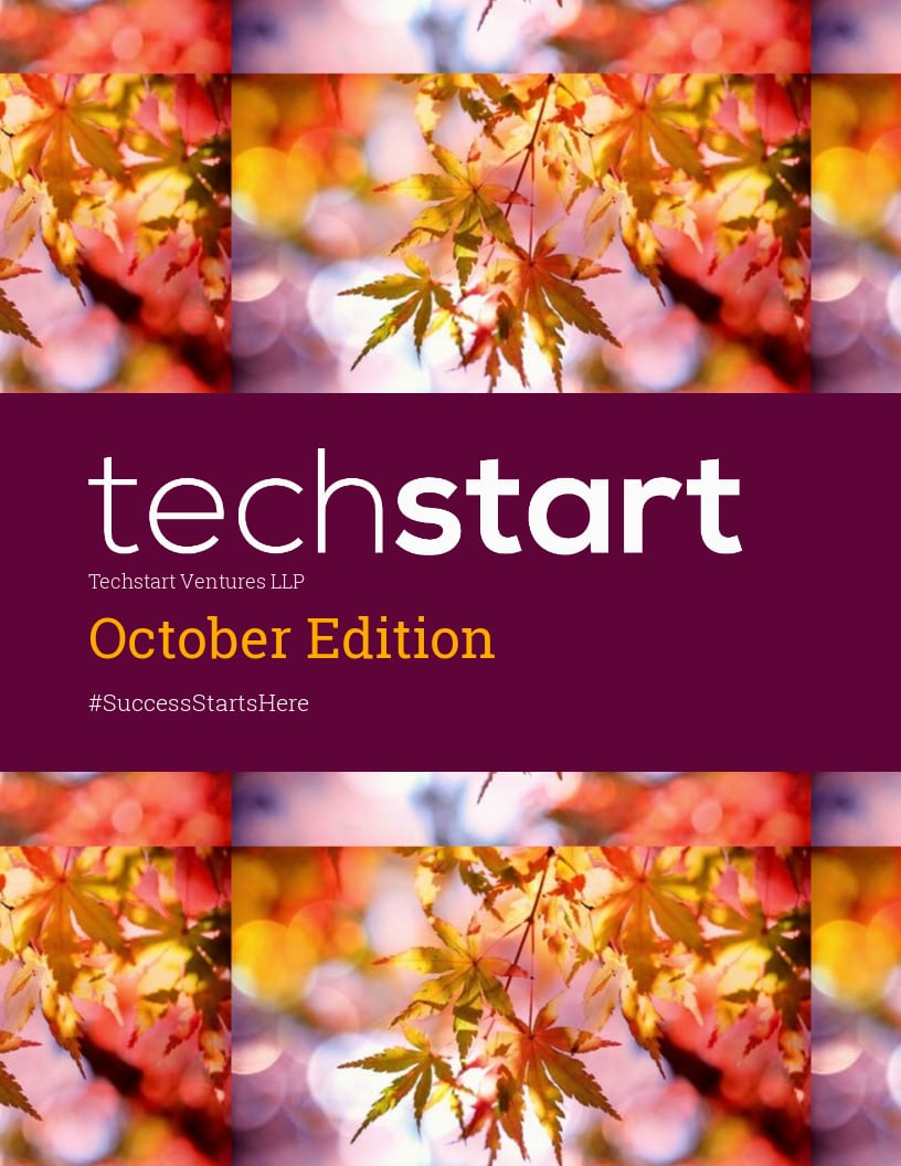 Techstart's October newsletter