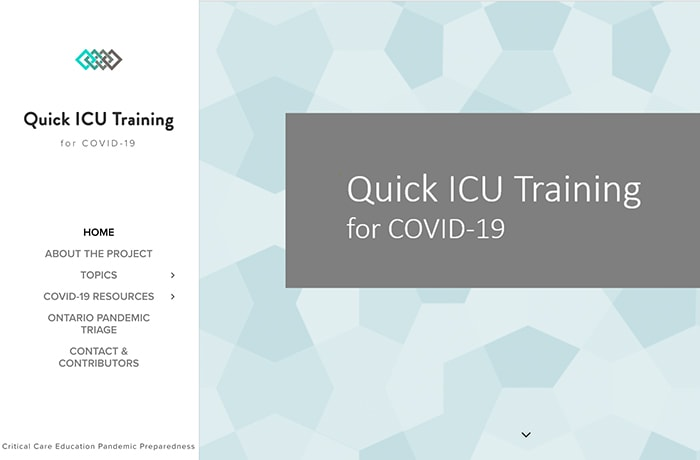 Quick ICU Training