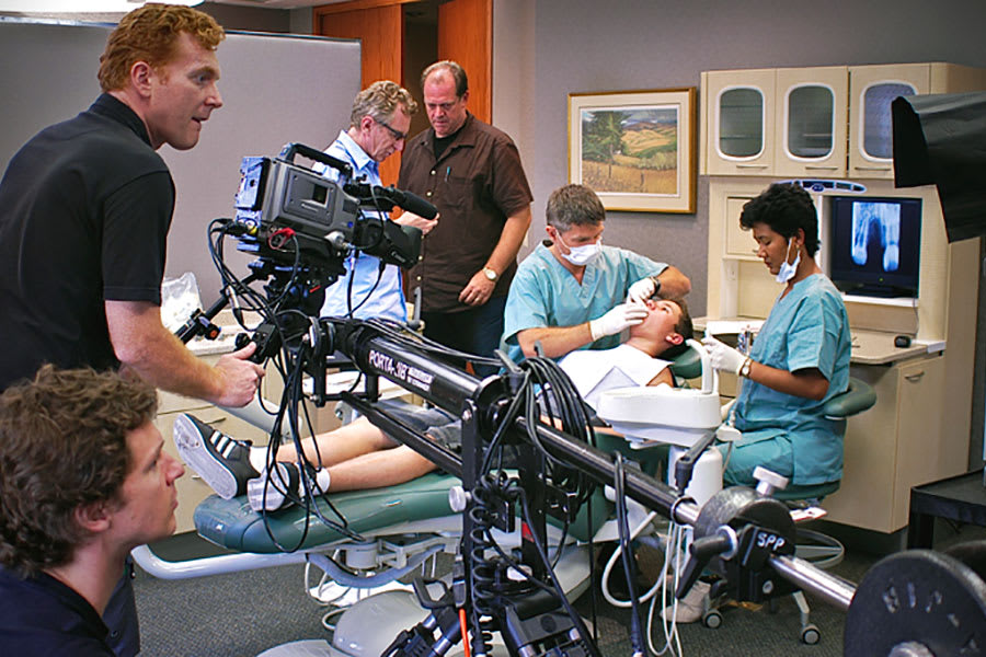 A recorded interprofessional simulation featuring a standardized patient