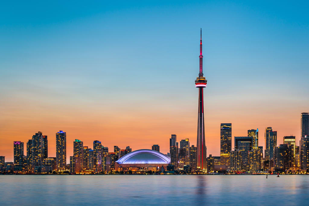 Toronto Skyline at twilight