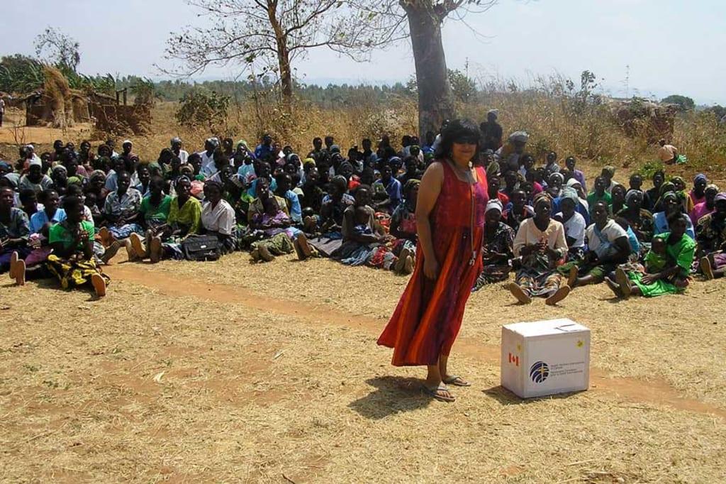 Dr. Banerji in Malawi, 2009