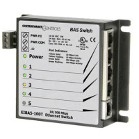 EIBA5-100T Contemporary Controls 5 Port Panel Mount 10/100 Mbps Switching Hub