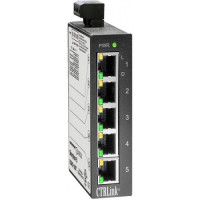 EISK5-100T Contemporary Controls 5 Port Din Mount 10/100 Mbps Switching Hub