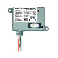 RIB2402SB-MNO - Enc Relay 20 Amp SPST-N/O + Override w 24Vac
