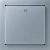 LBJ-2CH-ALU-902 - Switch - EnOcean - 2-channel Switch,lighting,Aluminium