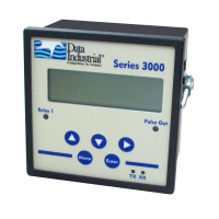 3000-0-0 - Badger Series 3000 Panel Mount Flow Monitor with Pulsed Outputs
