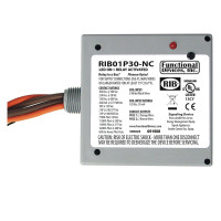 RIB01P30-NC - Relay, 30 Amp, DPST 120Vac NC