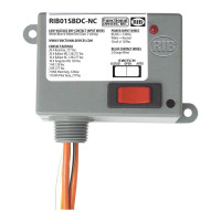 RIB01SBDC-NC - Dry Contact In,120V, 20A SPST-NC + Over