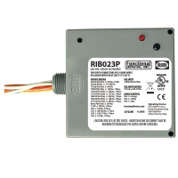 RIB023P - Functional Devices Enclosed Relay 20Amp 3PST 208-277Vac