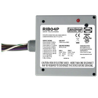 RIB04P - Functional Devices Enclosed Relay 20Amp DPDT 480Vac
