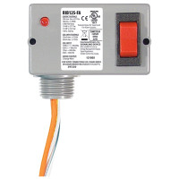 RIB12S-FA - Relay, 10 Amp, SPST W/Override Switch