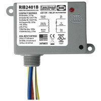 RIB2401B - Functional Devices Enclosed Relay 20Amp SPDT 24Vac/dc/120Vac