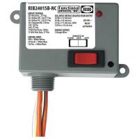 RIB2401SB-NC - Relay, 20Amp, SPST-NC+Sw, 24Vac./dc/120Vac