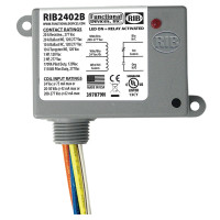 RIB2402B - Functional Devices Enclosed Relay 20Amp SPDT 24Vac/dc/208-277Vac