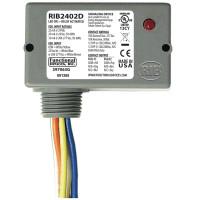 RIB2402D - Relay,10 Amp DPDT, 24Vac/Dc/208-277Vac,Track Mnt