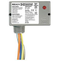 RIB2421C - Functional Devices Enclosed Relay 10Amp SPDT 24Vac/dc/120-277Vac
