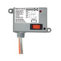 RIB2421SB-NC - Enclosed Relay 20Amp SPDT-NC + Override 24Vac/dc/120Vac/208-277Vac