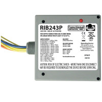 RIB243P - Functional Devices Enclosed Relay 20Amp 3PST 24Vac/dc