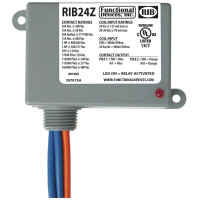 RIB24Z - Relay,30Amp, SPST-No+SPST-Nc,24Vac/Dc