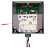RIBD01BDC -Enclosed Time Delay Relay 20 Amp SPDT, Class 2