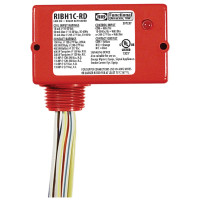 RIBH1C-RD - Relay,10Amp, SPDT,24Vac/Dc/208-277,Red